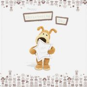 Boofle Christening Day Card